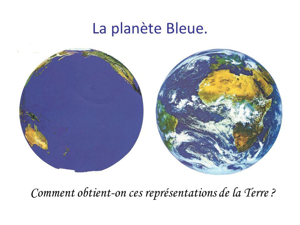 Comment obtient-on ces représentations de la Terre
