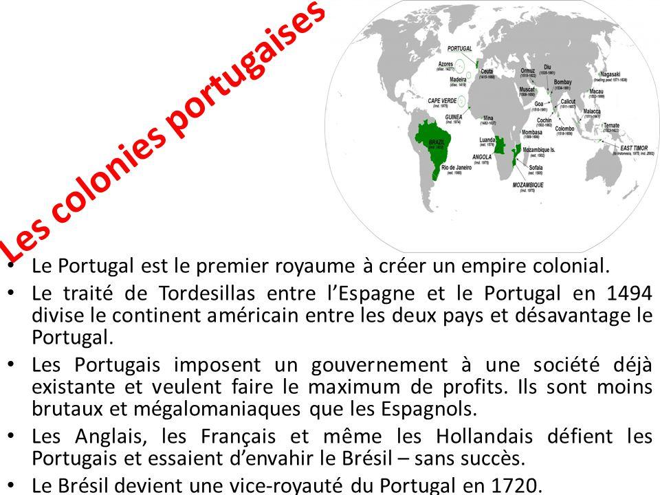 Les colonies portugaises