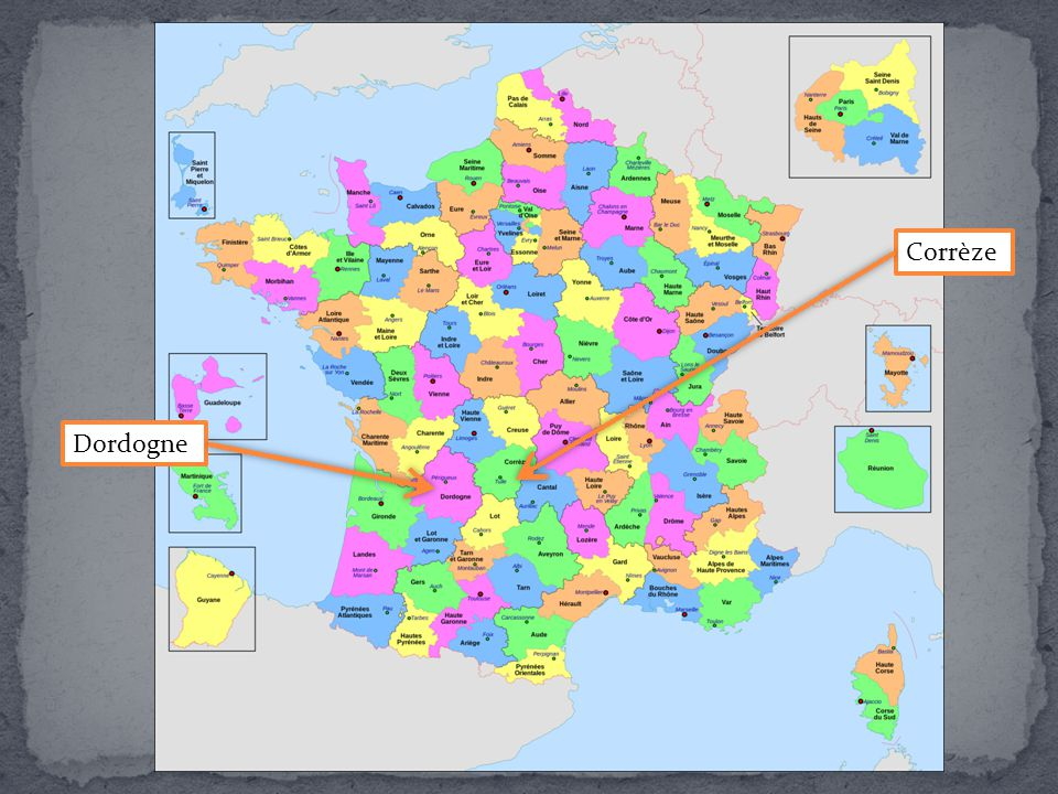 Corrèze Dordogne