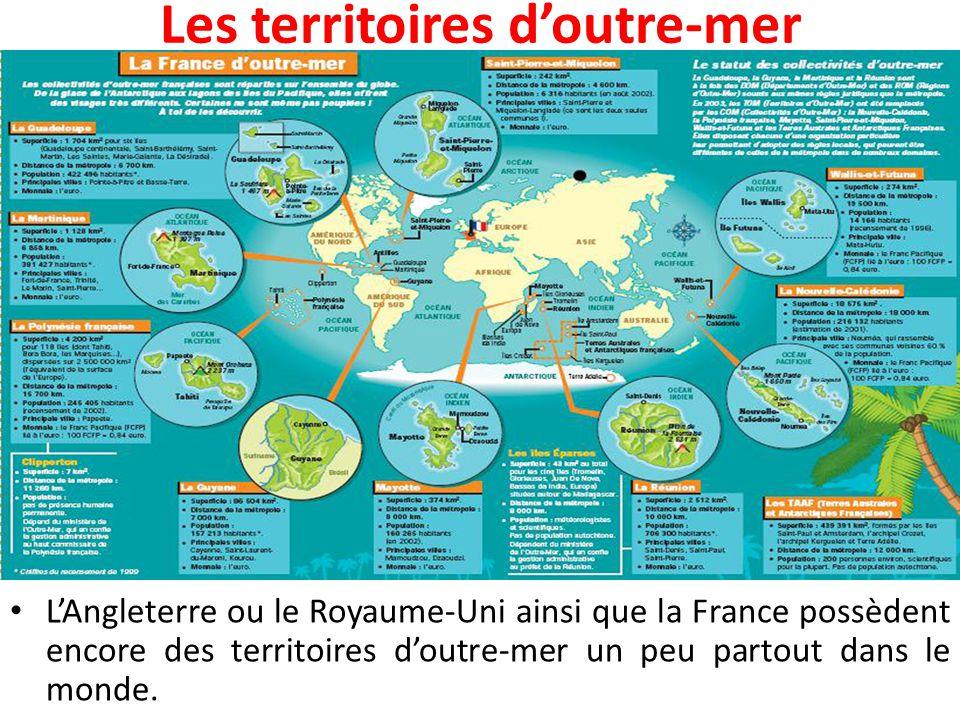 Les territoires d'outre-mer
