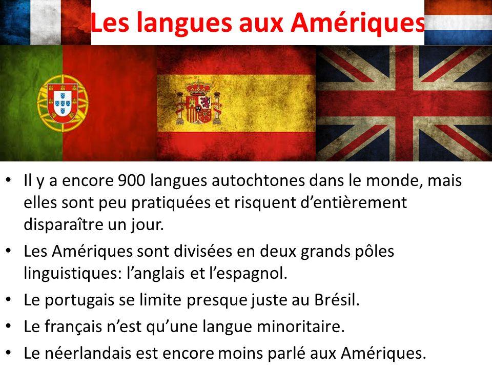 Les langues aux Amériques