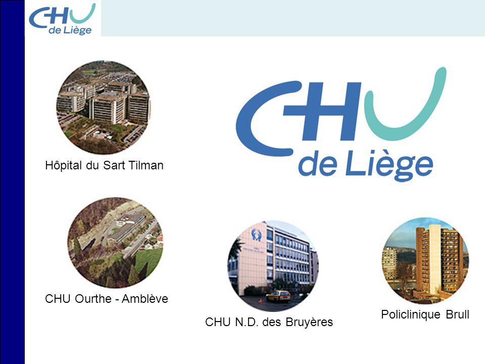 Hôpital du Sart Tilman CHU Ourthe - Amblève Policlinique Brull