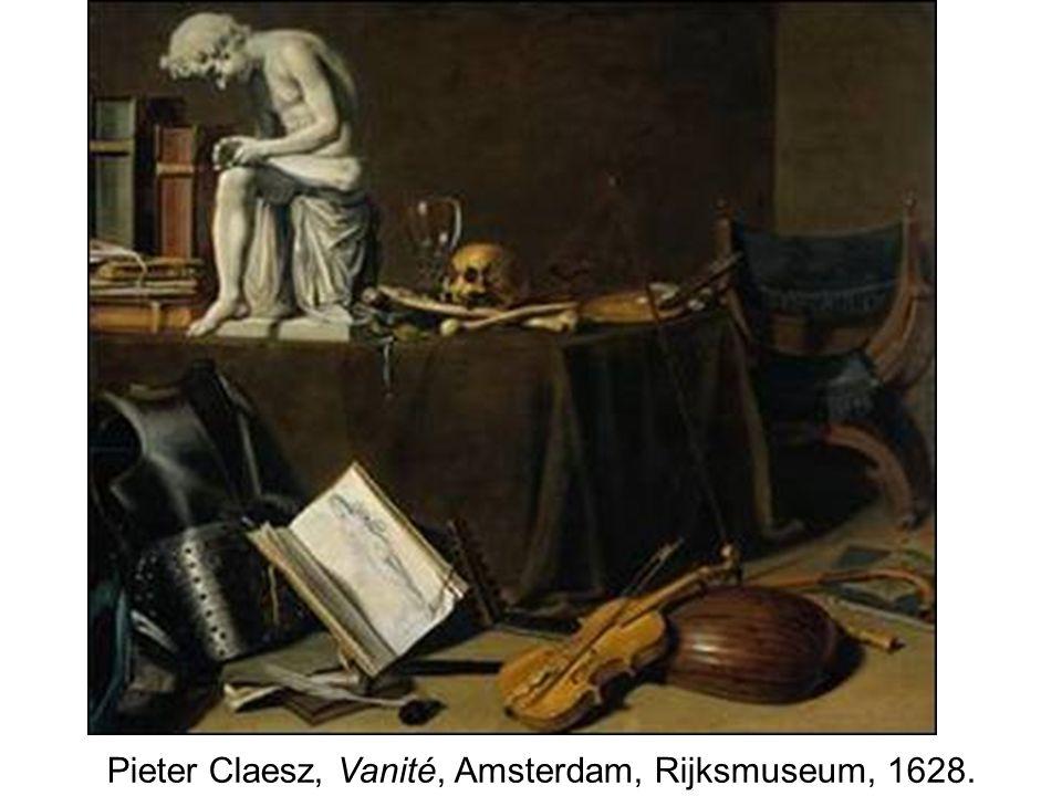 Pieter Claesz, Vanité, Amsterdam, Rijksmuseum, 1628.