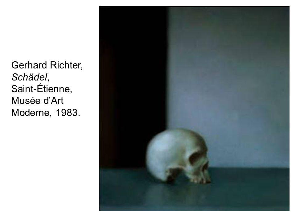 Gerhard Richter, Schädel,