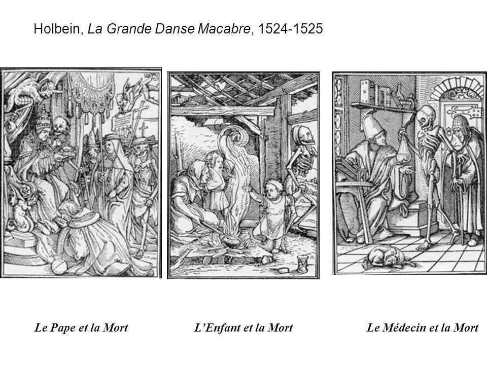 Holbein, La Grande Danse Macabre, 1524-1525