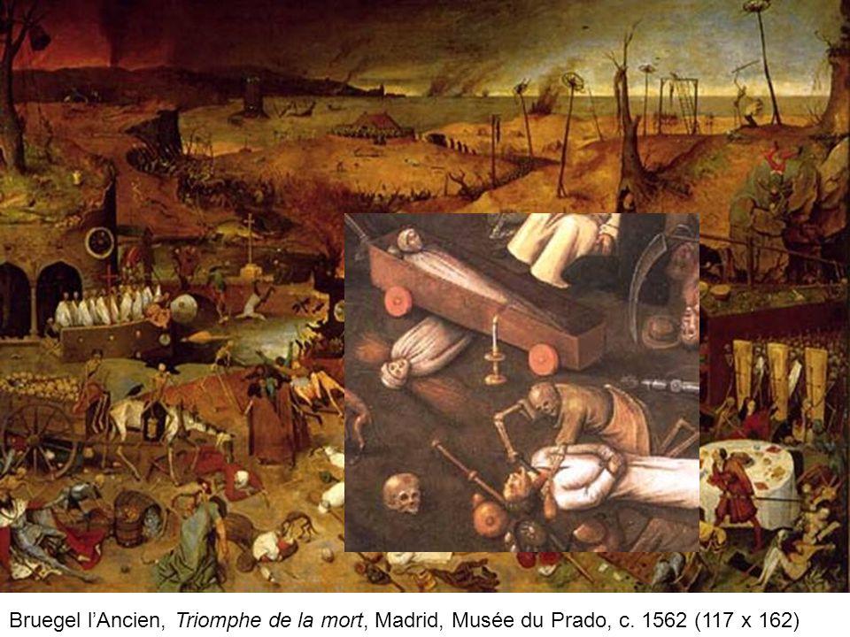 Bruegel l'Ancien, Triomphe de la mort, Madrid, Musée du Prado, c
