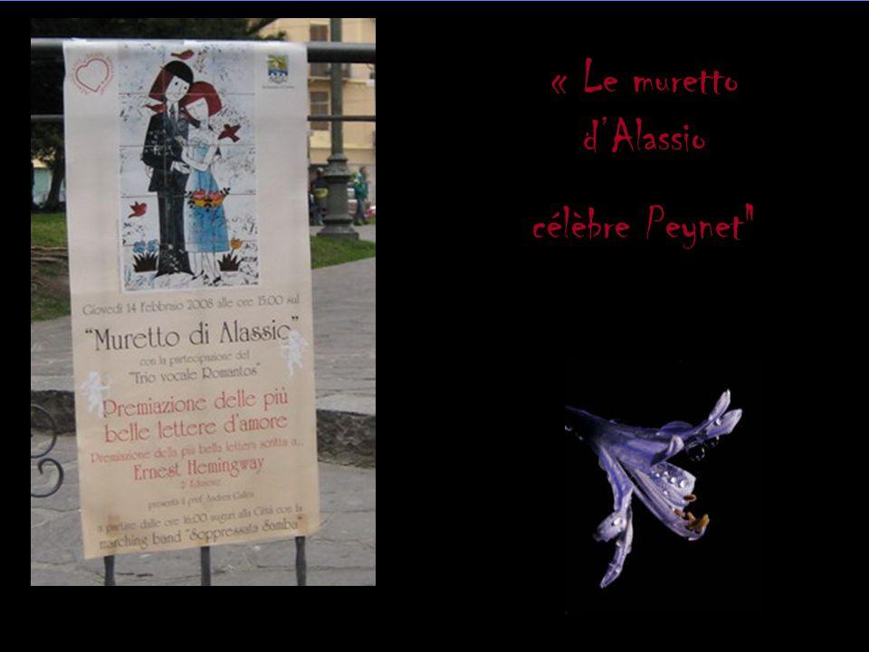 « Le muretto d'Alassio célèbre Peynet