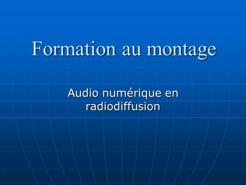 Audio numérique en radiodiffusion