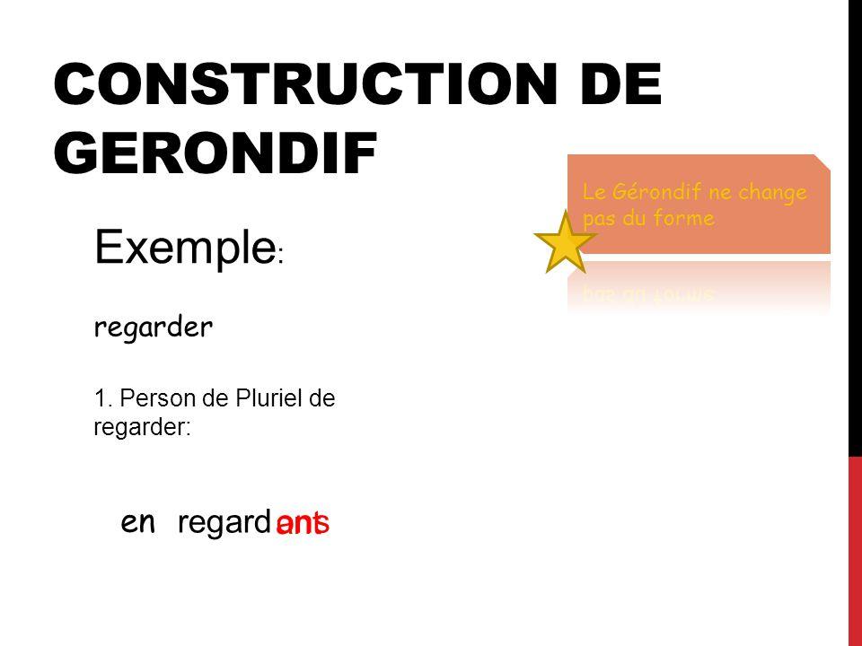 Construction de Gerondif