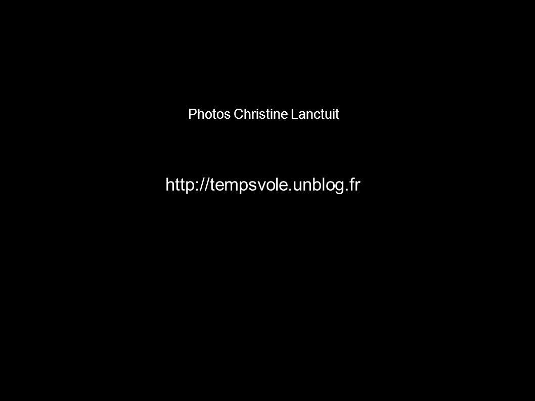 Photos Christine Lanctuit