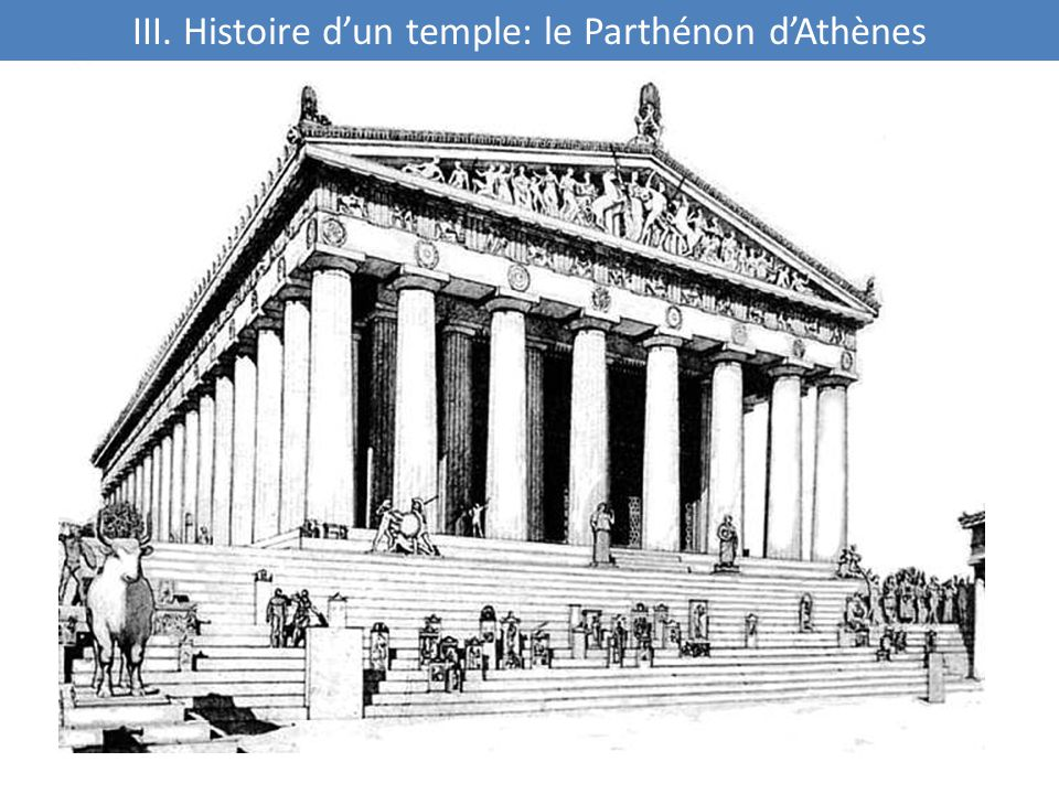 III. Histoire d'un temple: le Parthénon d'Athènes