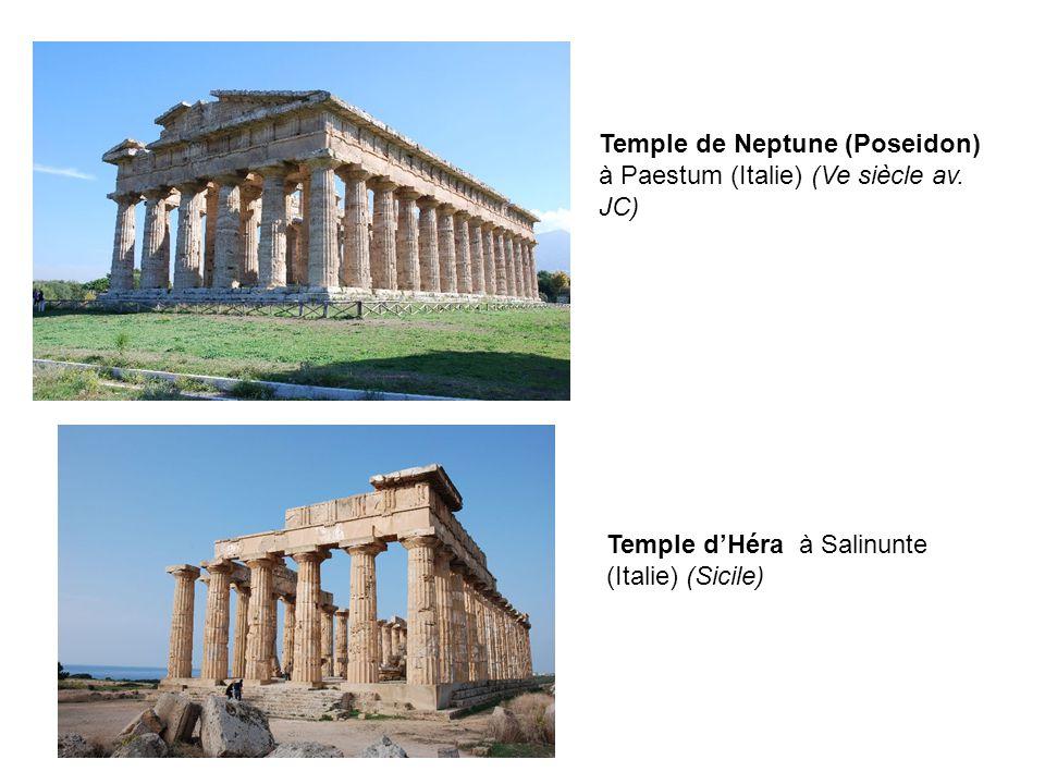 Temple de Neptune (Poseidon) à Paestum (Italie) (Ve siècle av. JC)