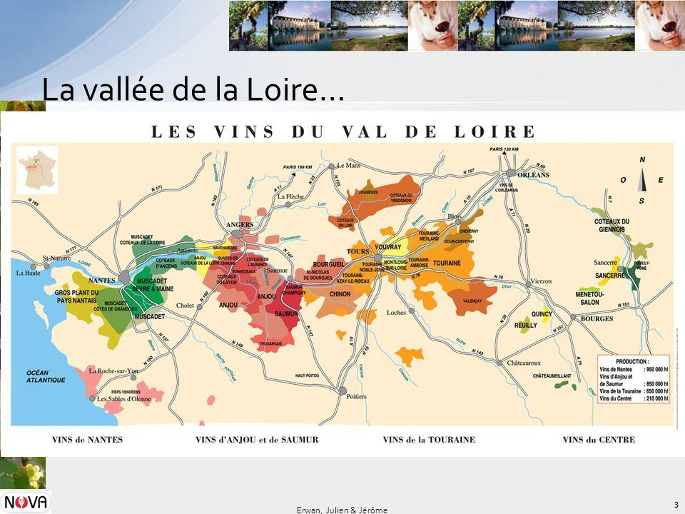 La vallée de la Loire… Erwan, Julien & Jérôme