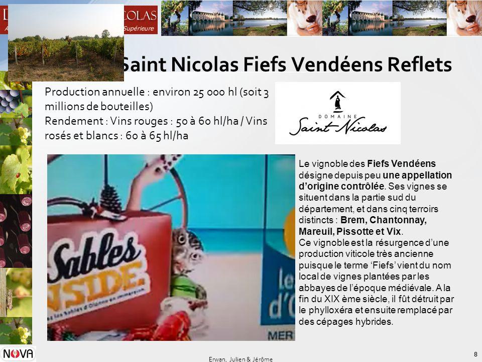 Domaine Saint Nicolas Fiefs Vendéens Reflets