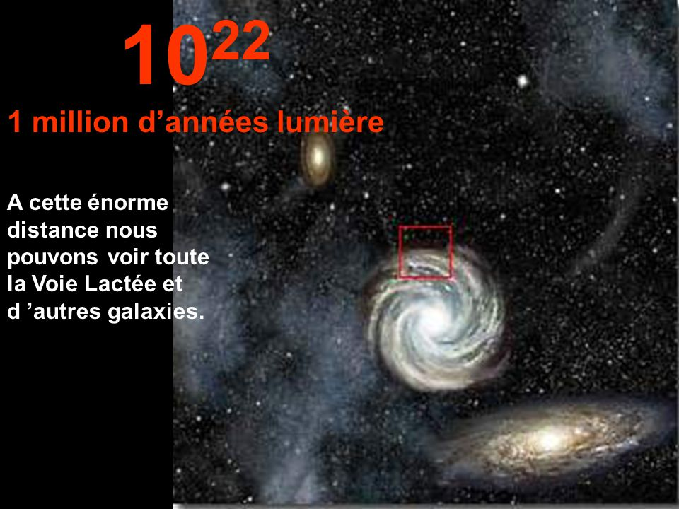 1 million d'années lumière