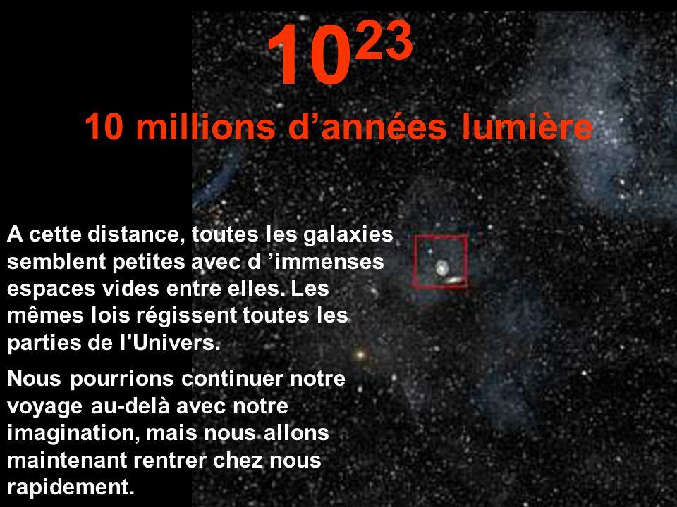 10 millions d'années lumière