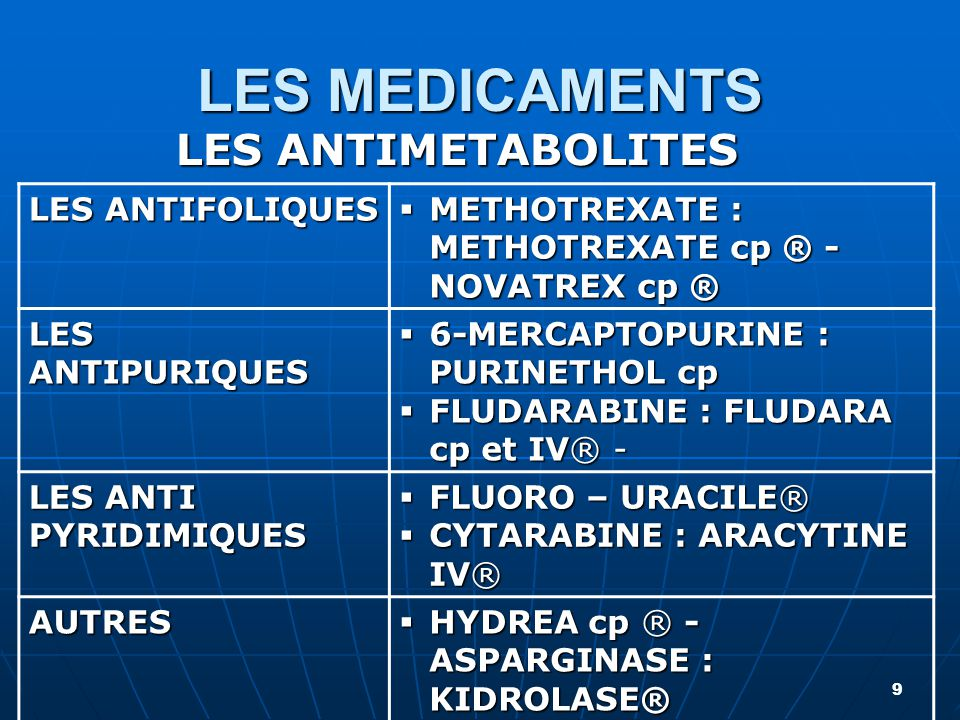 LA CHIMIOTHÉRAPIE ANTICANCÉREUSE - ppt video online