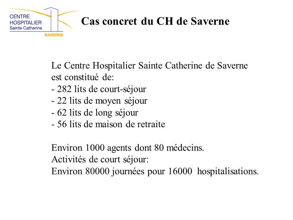Cas concret du CH de Saverne