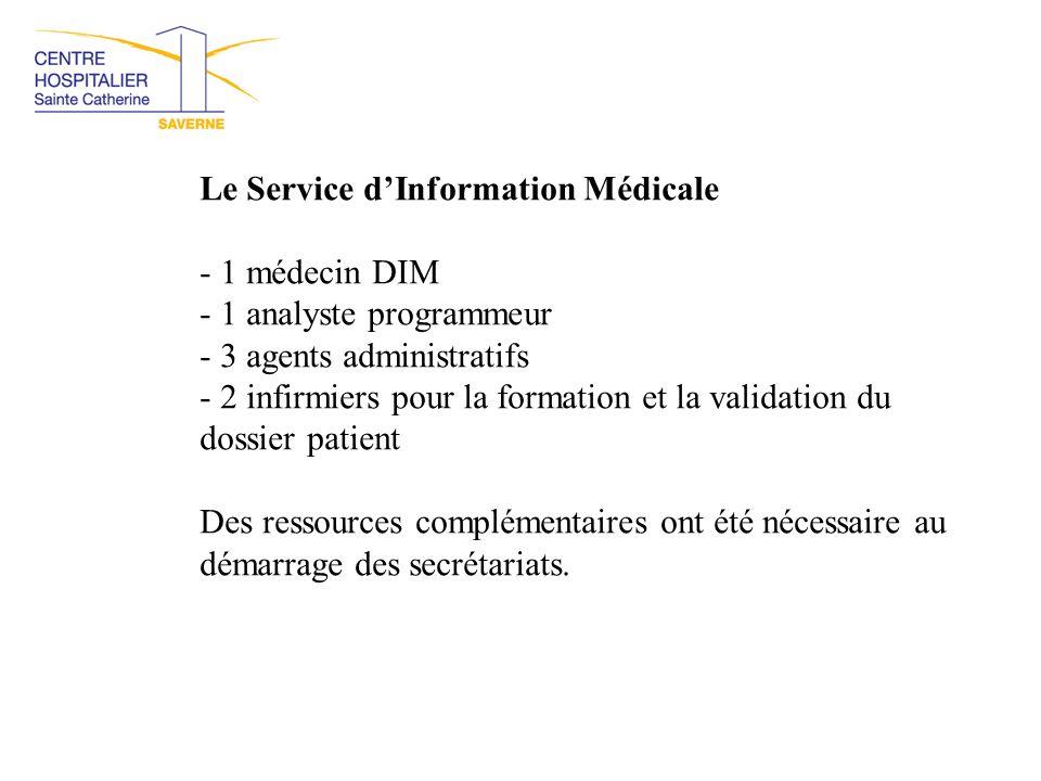 Le Service d'Information Médicale