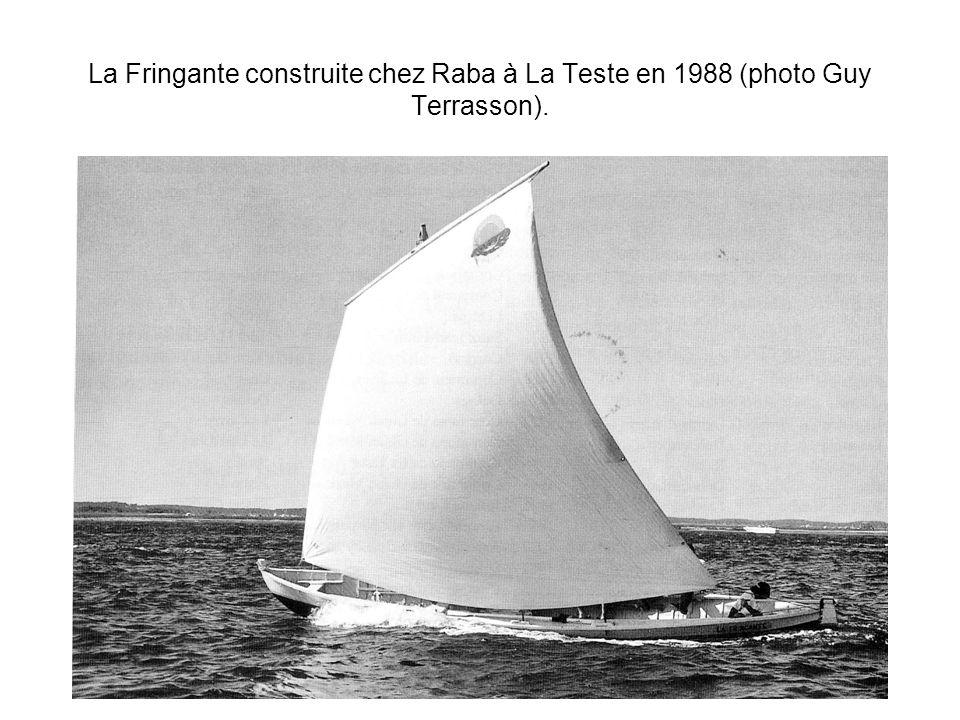 La Fringante construite chez Raba à La Teste en 1988 (photo Guy Terrasson).