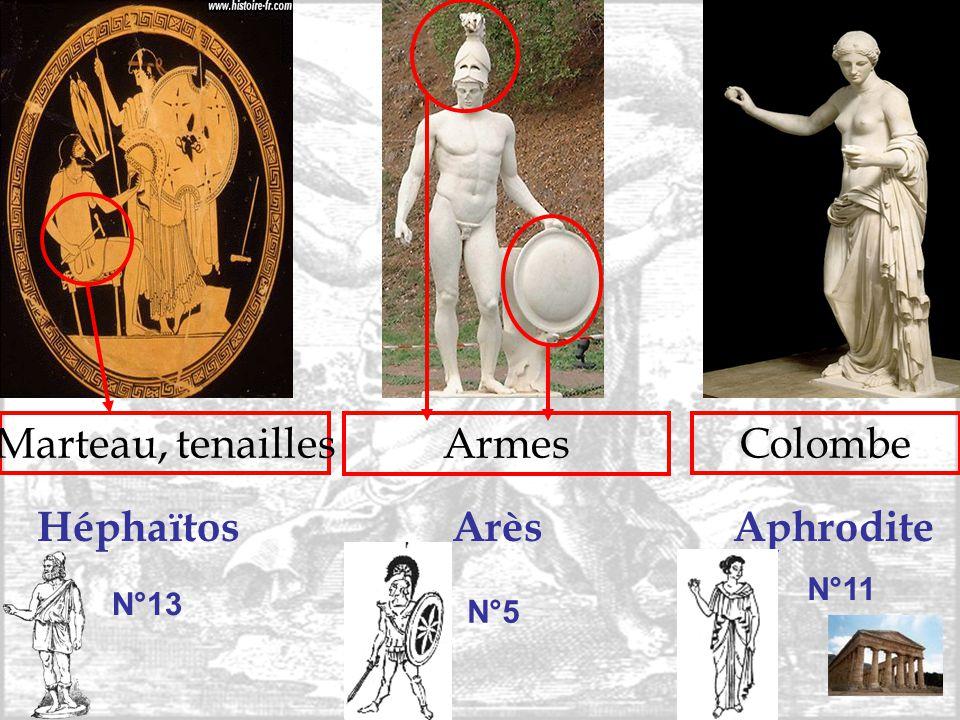 Héphaïtos Arès Aphrodite