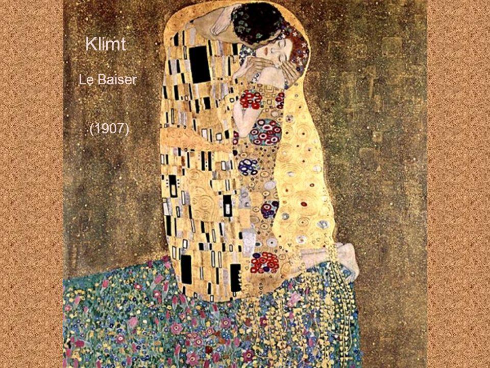 Klimt Le Baiser (1907)