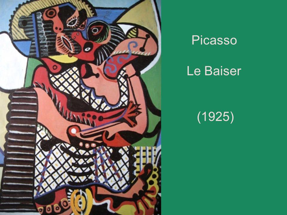 Picasso Le Baiser (1925)