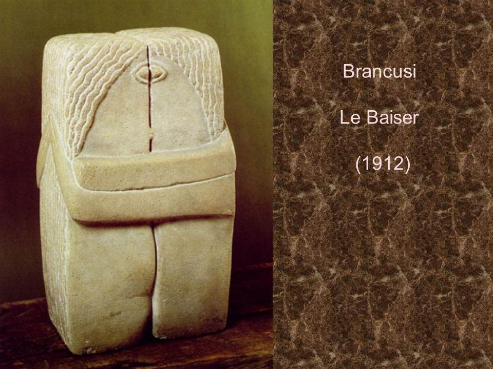 Brancusi Le Baiser (1912)