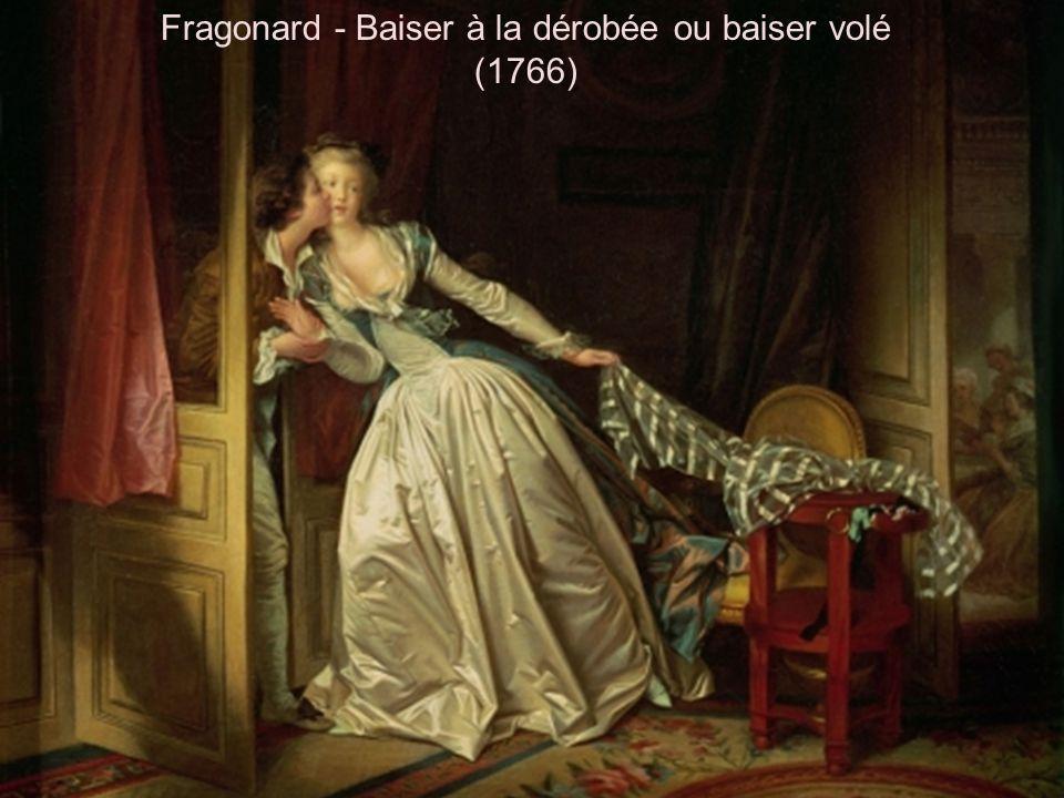 Fragonard - Baiser à la dérobée ou baiser volé