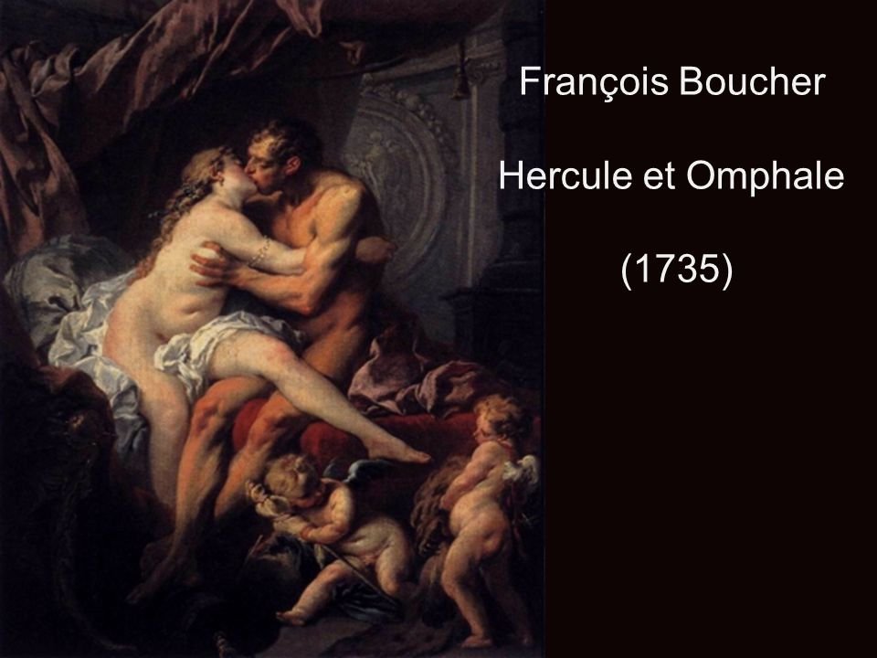 François Boucher Hercule et Omphale (1735)
