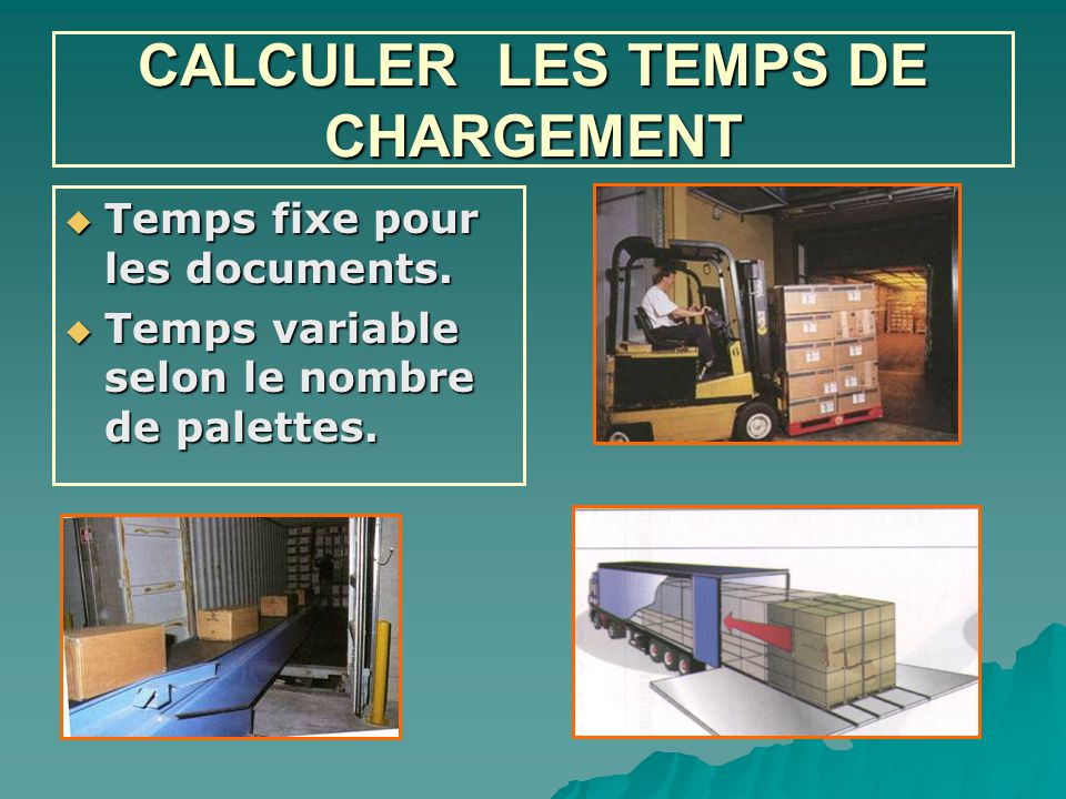 CALCULER LES TEMPS DE CHARGEMENT