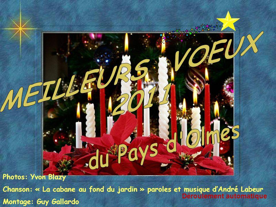MEILLEURS VOEUX 2011 du Pays d Olmes