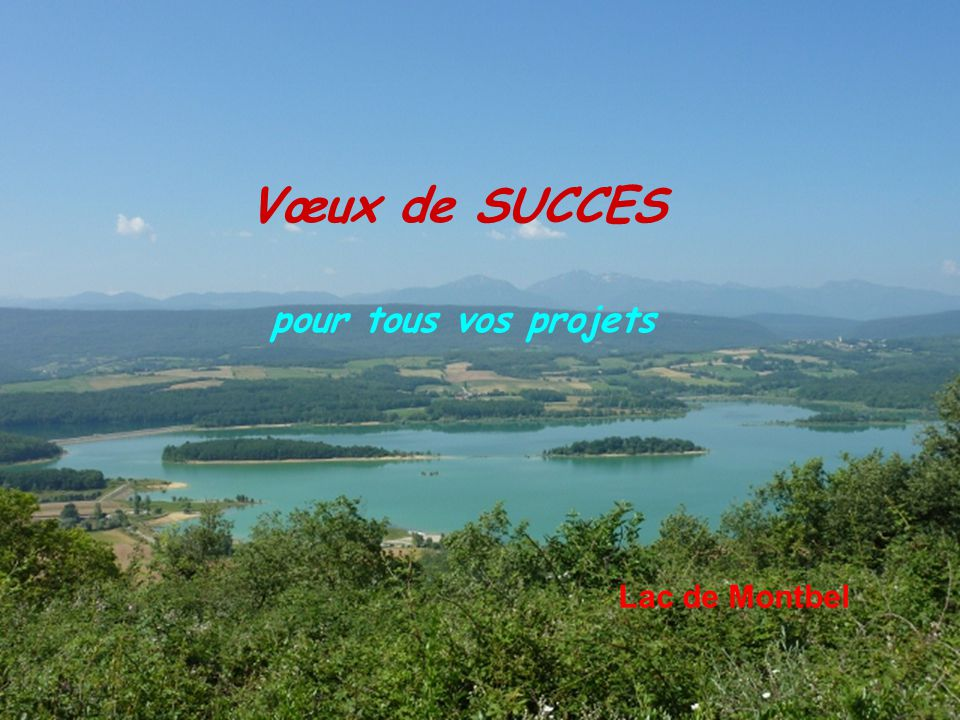 Vœux de SUCCES pour tous vos projets Lac de Montbel 7