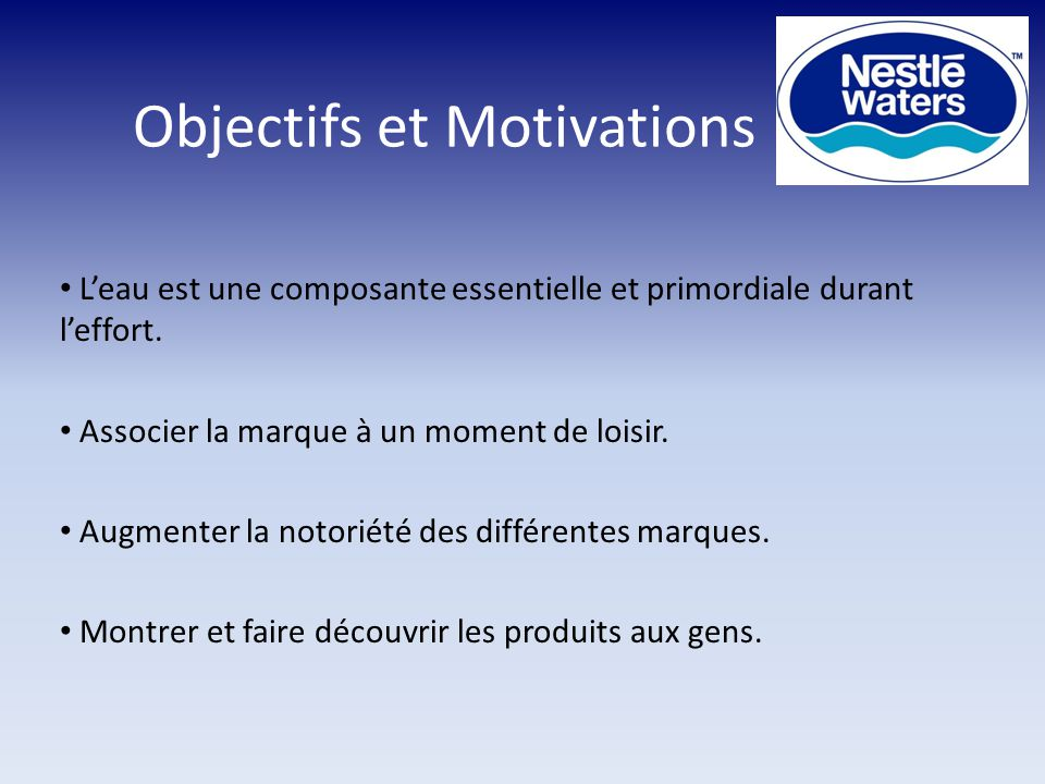 Objectifs et Motivations