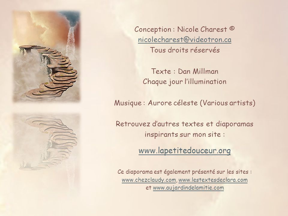 Conception : Nicole Charest © nicolecharest@videotron