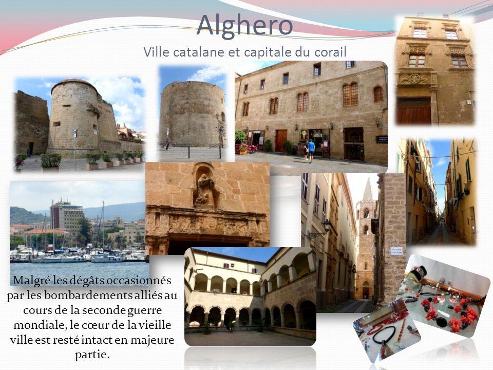 Alghero Ville catalane et capitale du corail