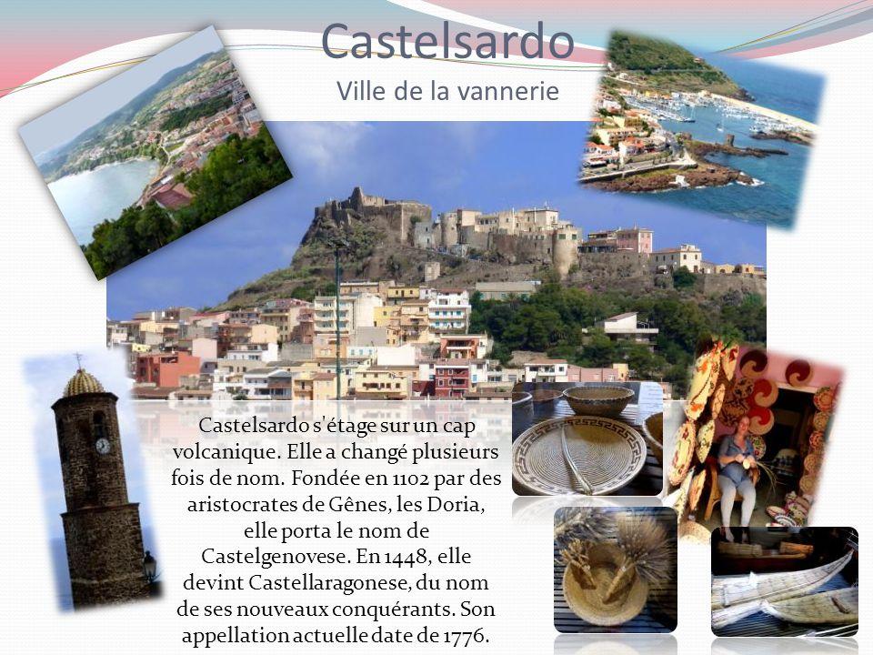 Castelsardo Ville de la vannerie