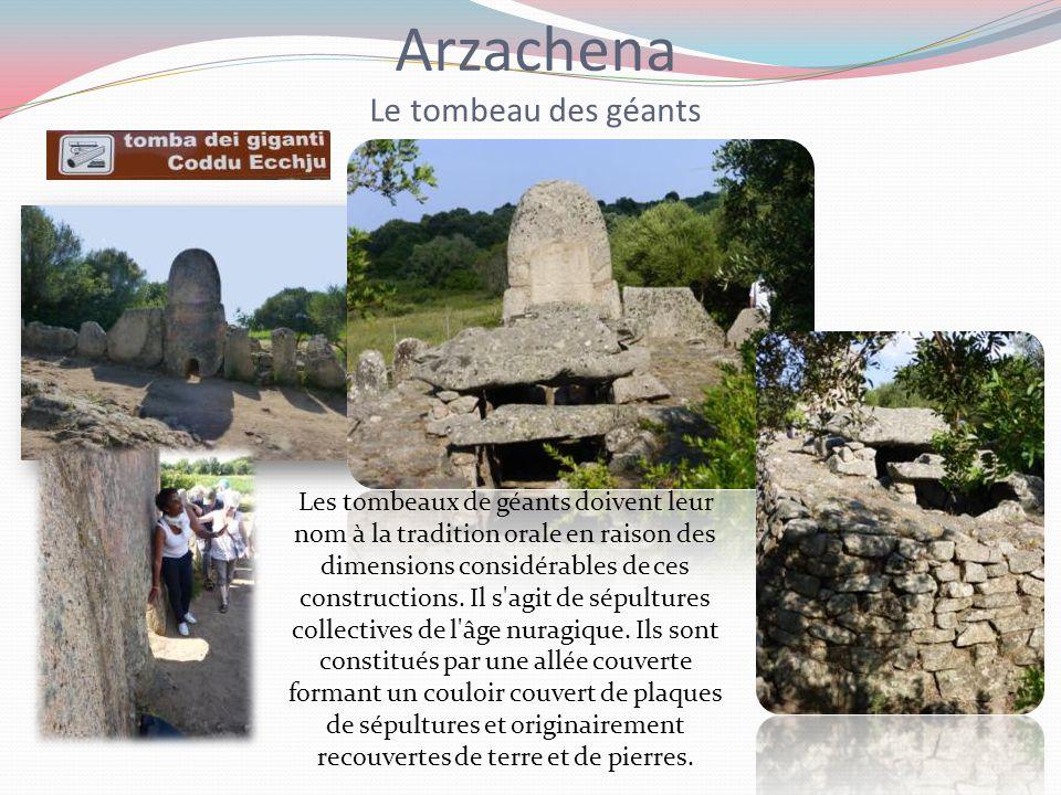 Arzachena Le tombeau des géants