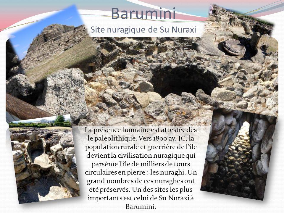 Barumini Site nuragique de Su Nuraxi