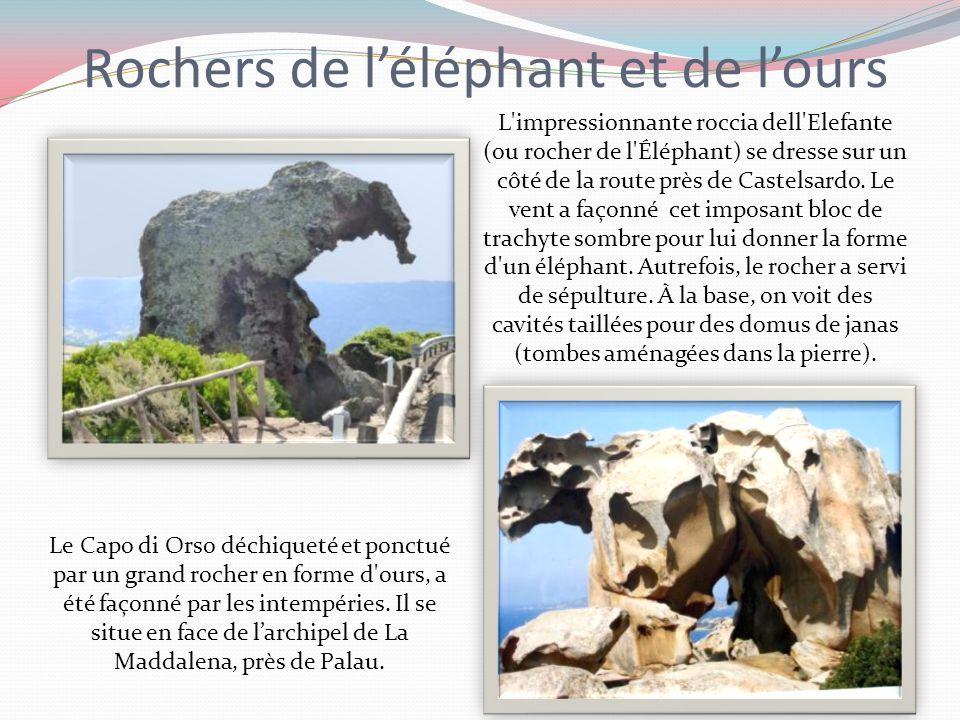 Rochers de l'éléphant et de l'ours