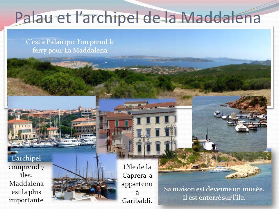 Palau et l'archipel de la Maddalena