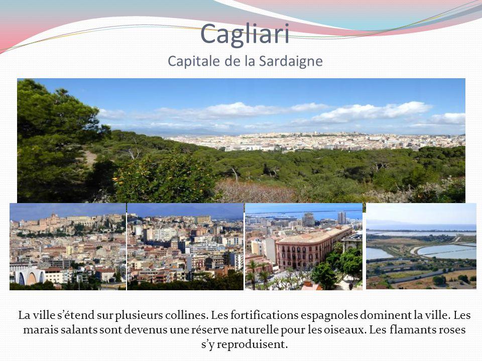 Cagliari Capitale de la Sardaigne