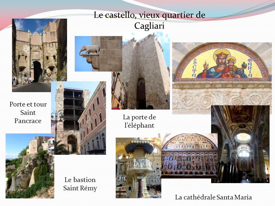 Le castello, vieux quartier de Cagliari