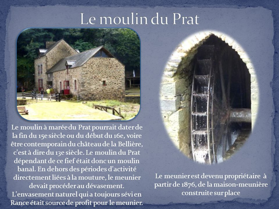 Le moulin du Prat