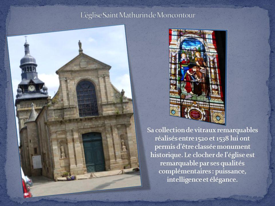 L'église Saint Mathurin de Moncontour