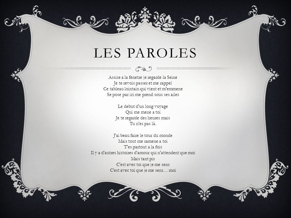 Les Paroles