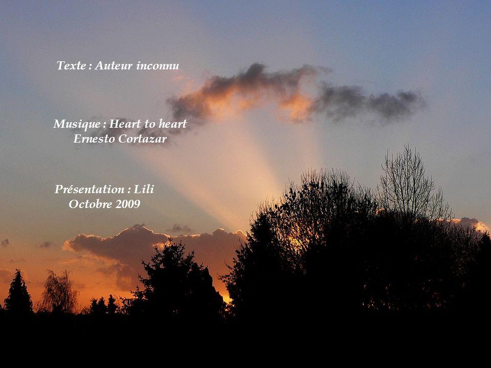Musique : Heart to heart Ernesto Cortazar