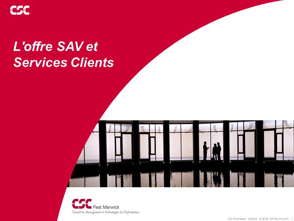 L offre SAV et Services Clients