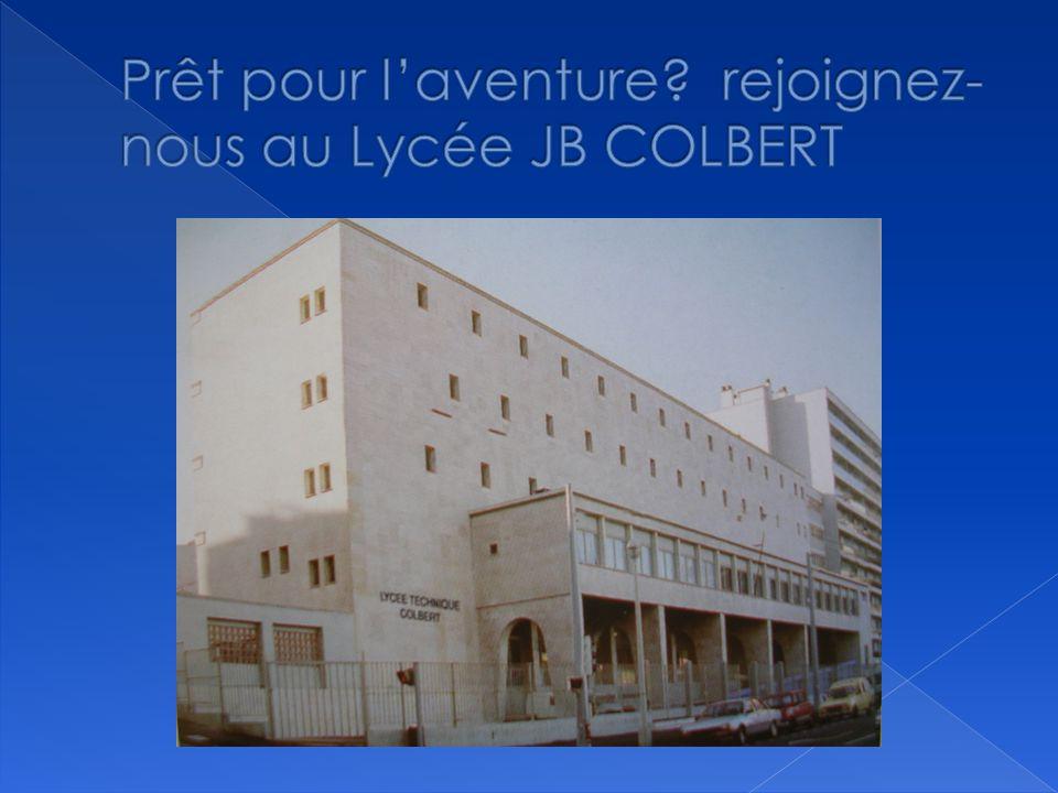 Prêt pour l'aventure rejoignez-nous au Lycée JB COLBERT