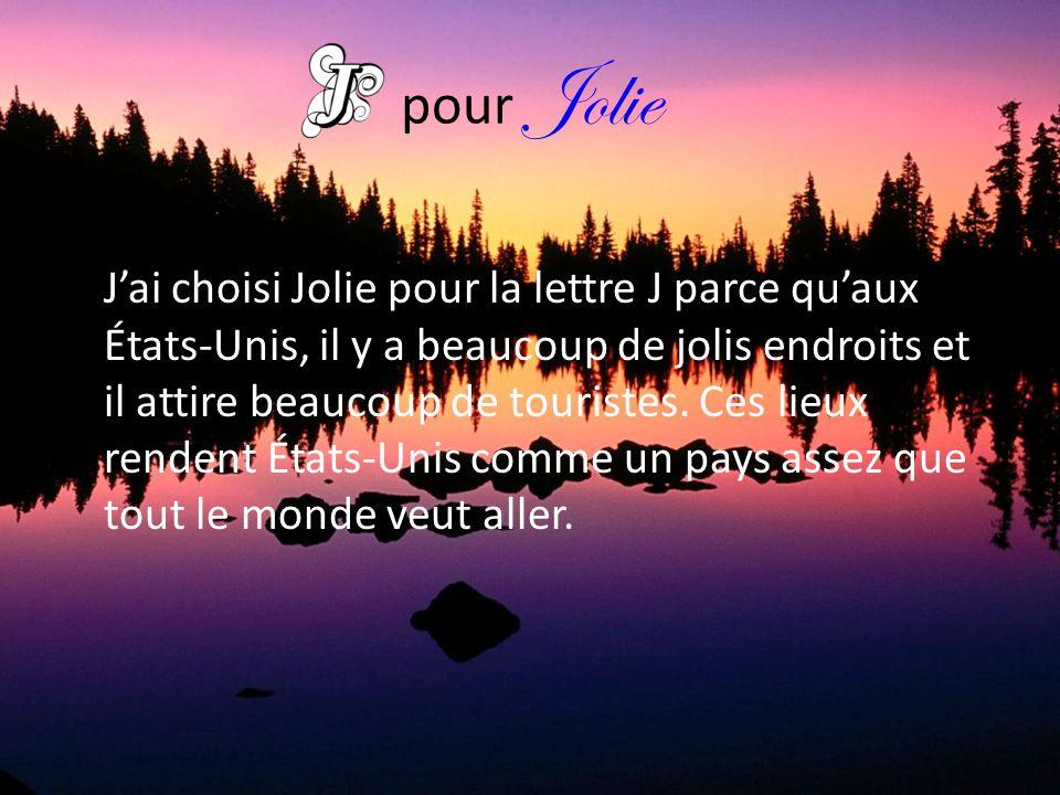 pour Jolie